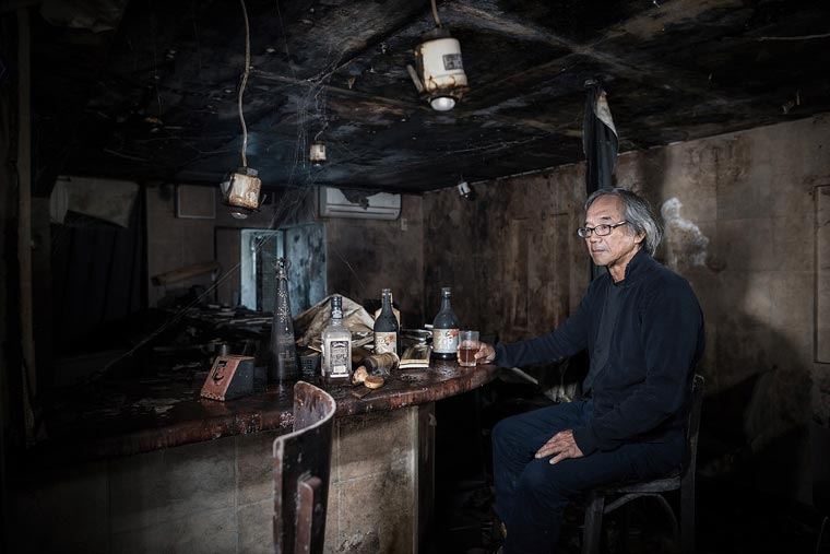 Fukushima No Go Zone - Former residents are back to pose in their devastated cities