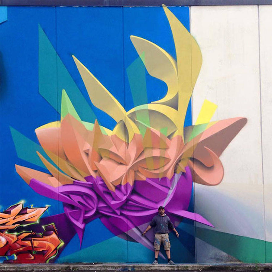 Beautiful Graffiti and Murals by Peeta