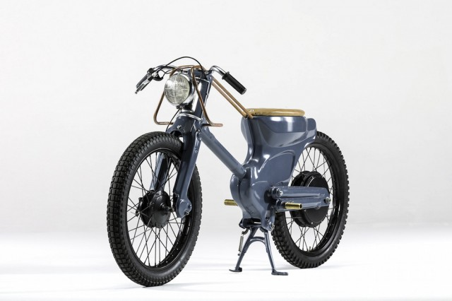 Neo-Retro Electric Moped
