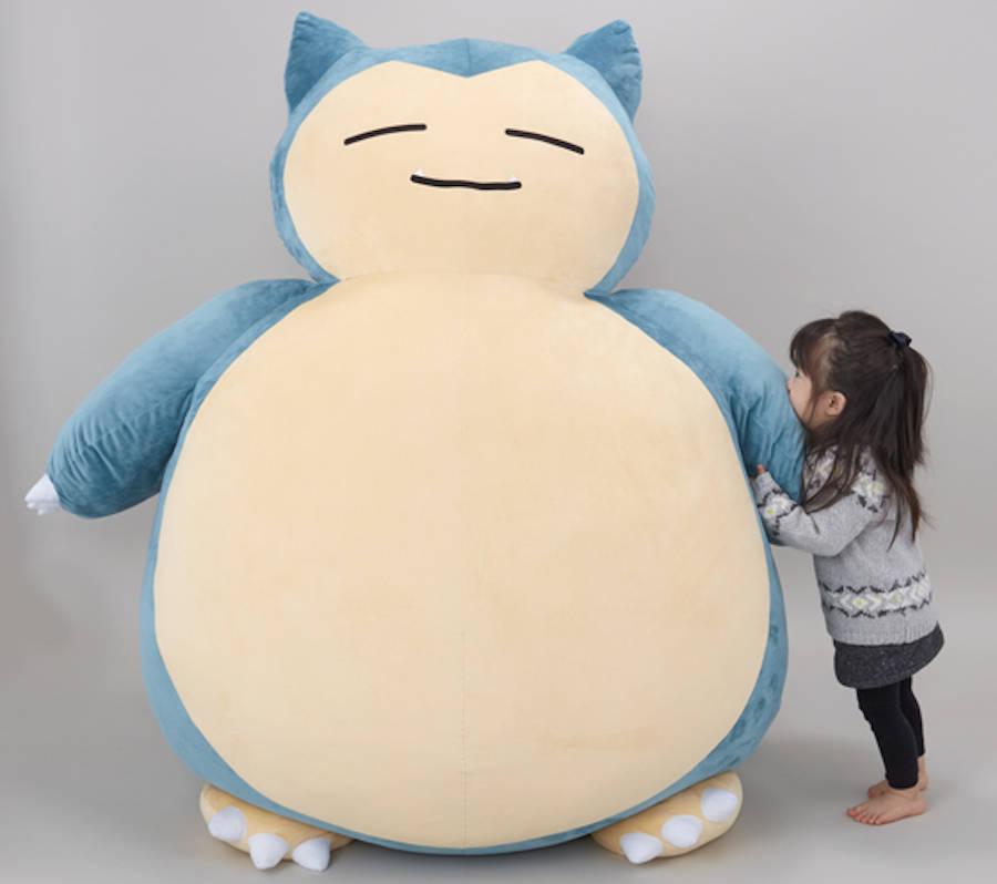 Big Snorlax Pokemon Cushion