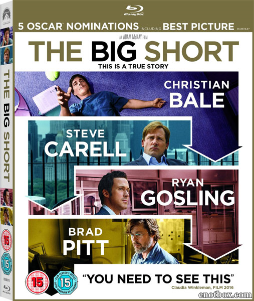 Игра на понижение / The Big Short (2015/BD-Remux/BDRip/HDRip)