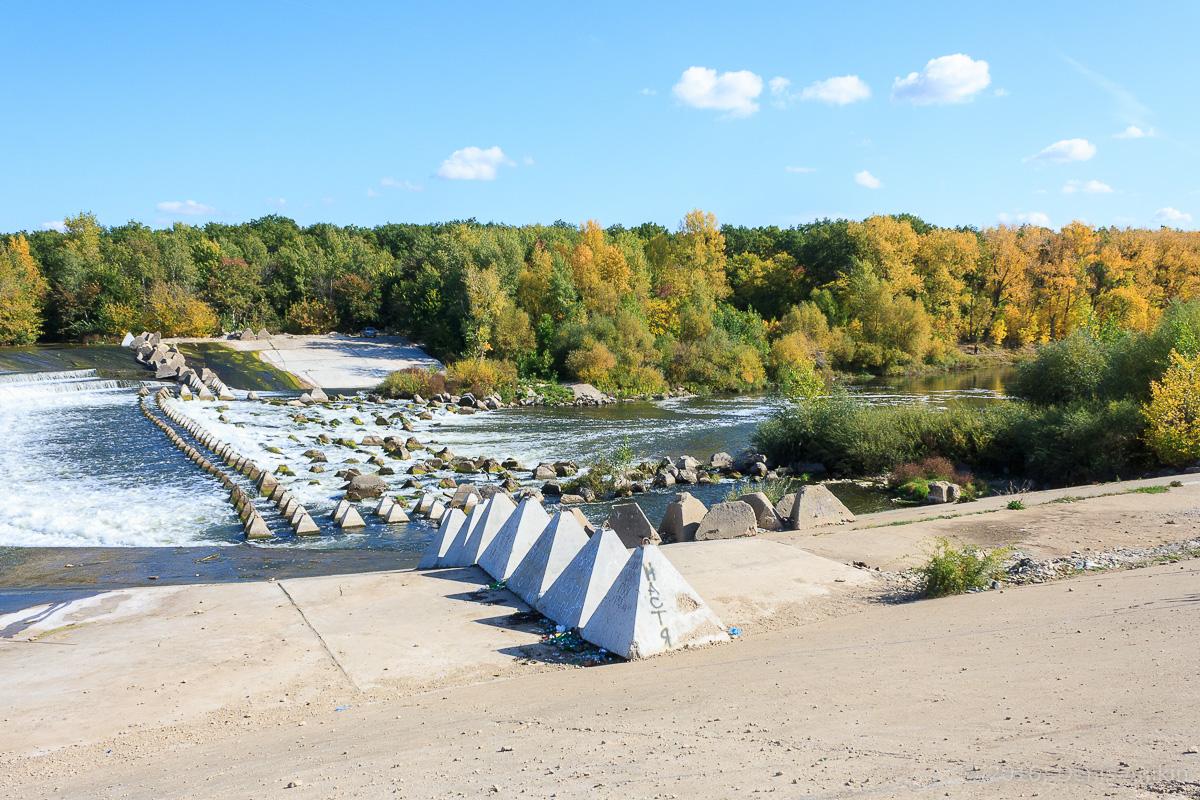 Переливная плотина на реке Большой Иргиз 3