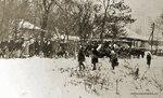 Так проходили похороны в #Солнцево 1983г справа вверху виден Солнцевский проспект фото Галина Шведова