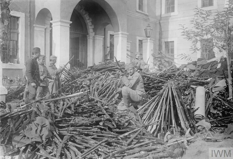 THE FIRST BALKAN WAR, 1912-1913