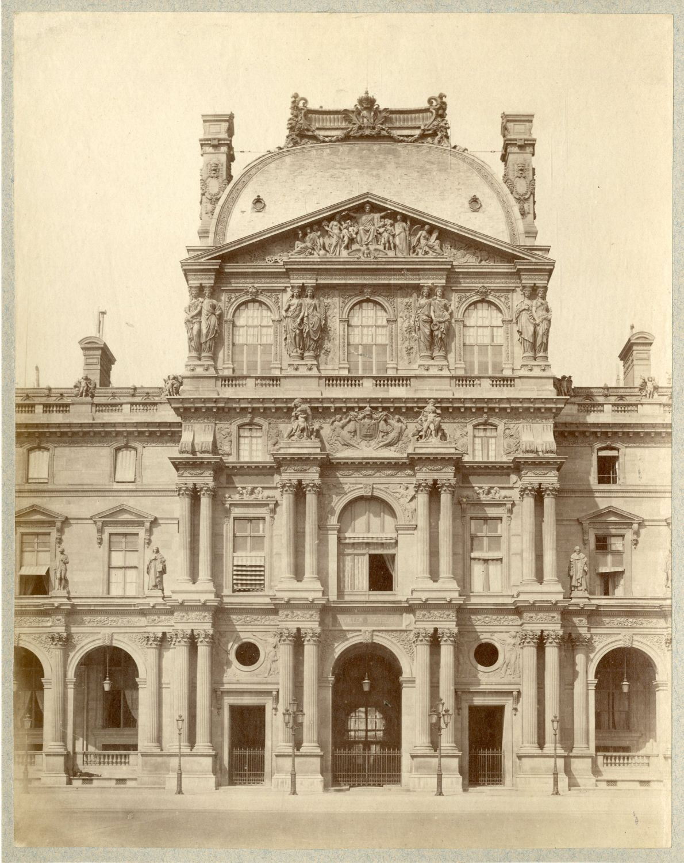 1880. Лувр. Павильон Ришелье