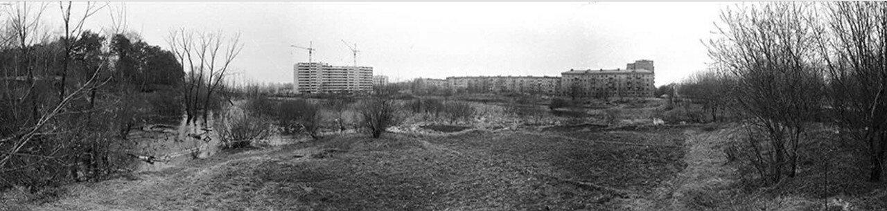 1980-е. Вид на Пролетарскую улицу