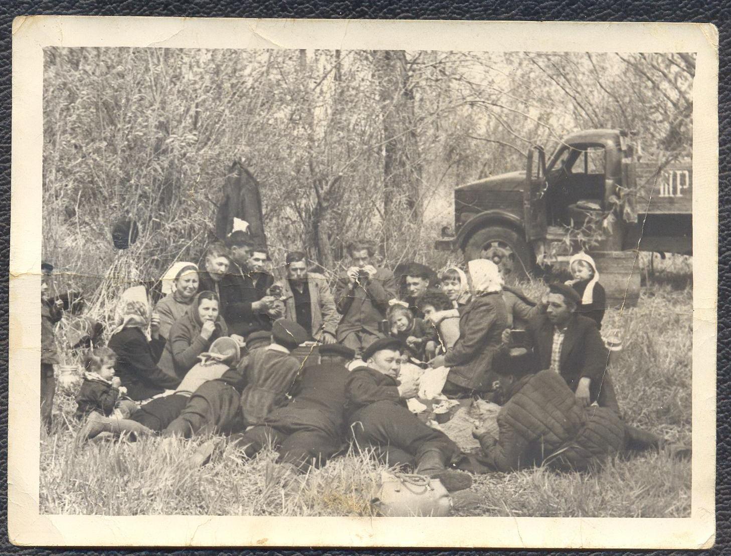 1960-е. п Рассвет, Павлодарская обл., Казахстан