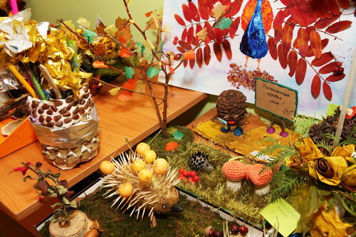 Осенние поделки: 25 идей для детского творчества и украшения интерьера 70