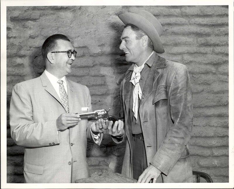 Fred A. Roff, Jr and Randolph Scott