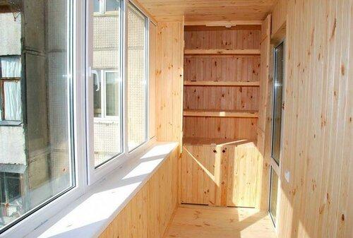 Особенности внутренней отделки балконов