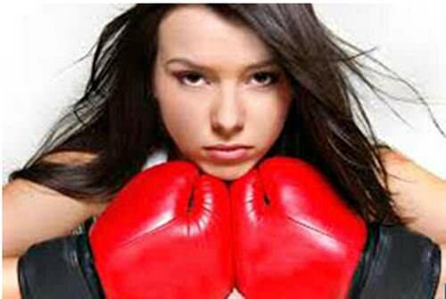 Женская сила - в женской слабости