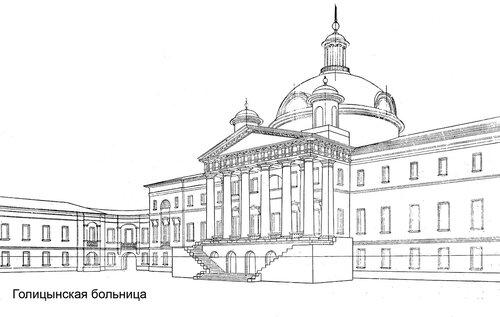 Голицынская больница в Москве, перспектива
