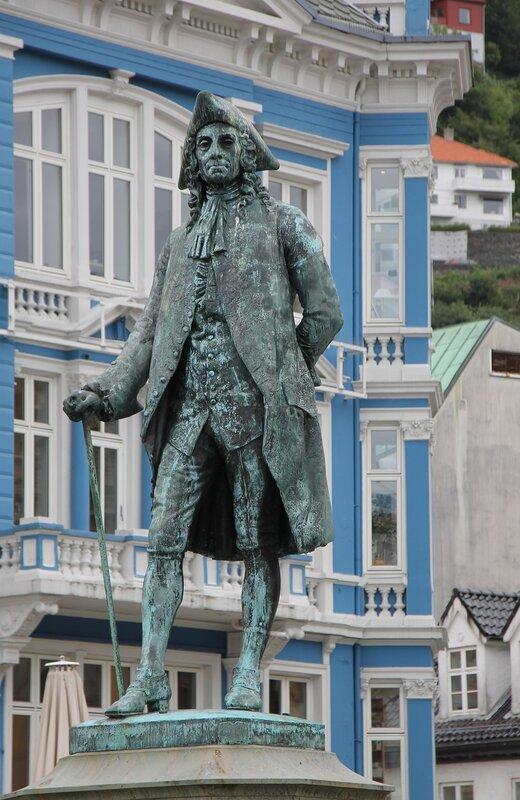 Bergen, Vågsallmenningen, Берген, площадь Вагсальменнинген