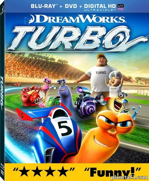Турбо / Turbo (2013/BDRemux/BDRip/HDRip/3D)