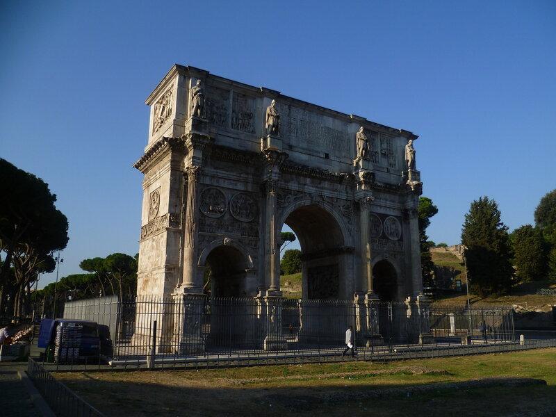 Италия, Рим - арка Константина (Italy, Rome - Arch of Constantine)