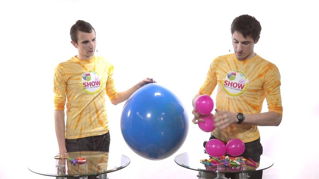 Как сделать Шар-сюрприз из воздушных шариков