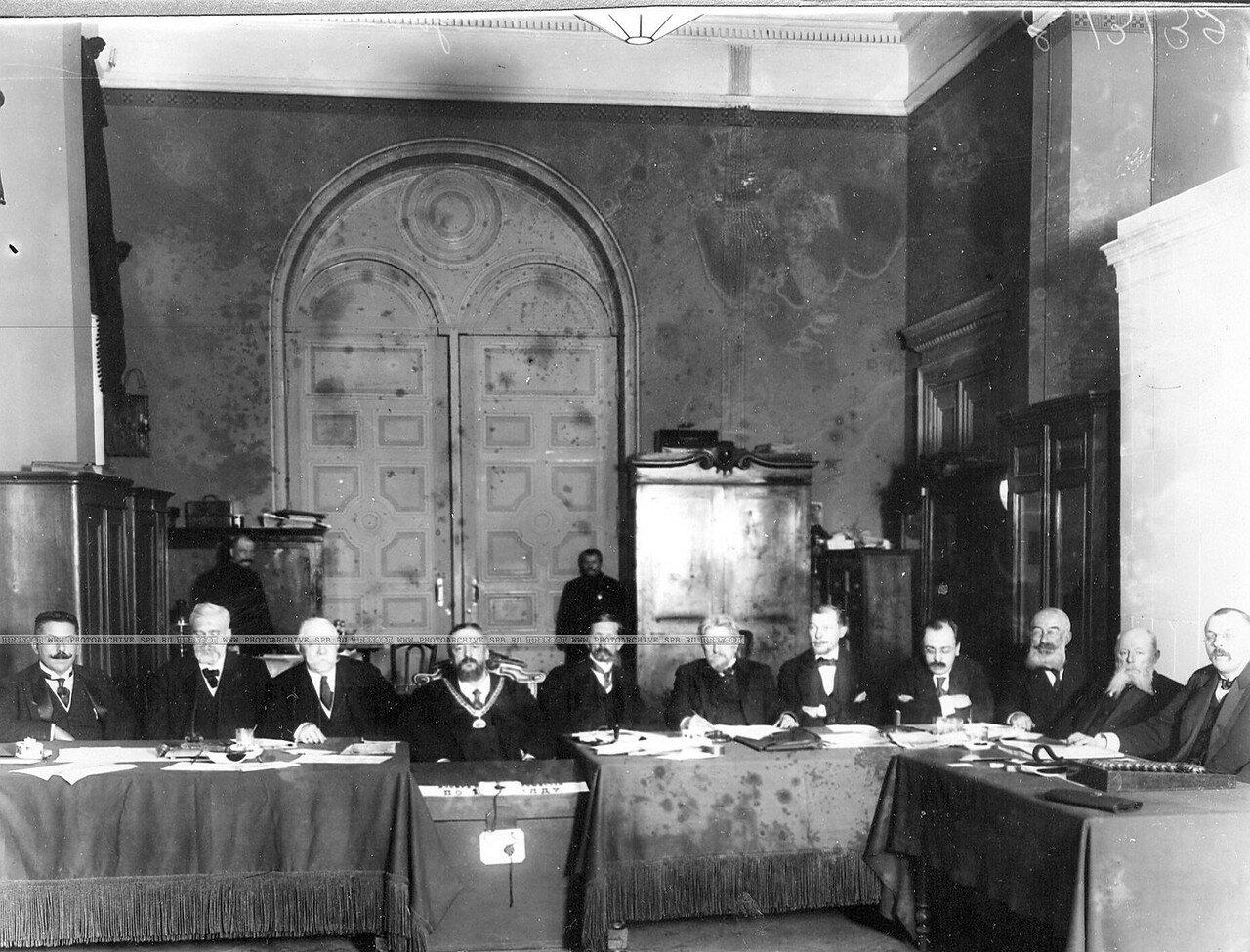 Избирательная комиссия по первому разряду городских избирателей на выборах в Четвертую Государственную думу.15 октября 1912
