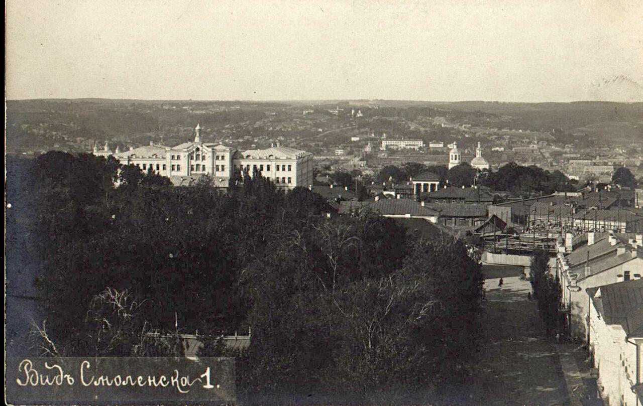Панорама Смоленска 1