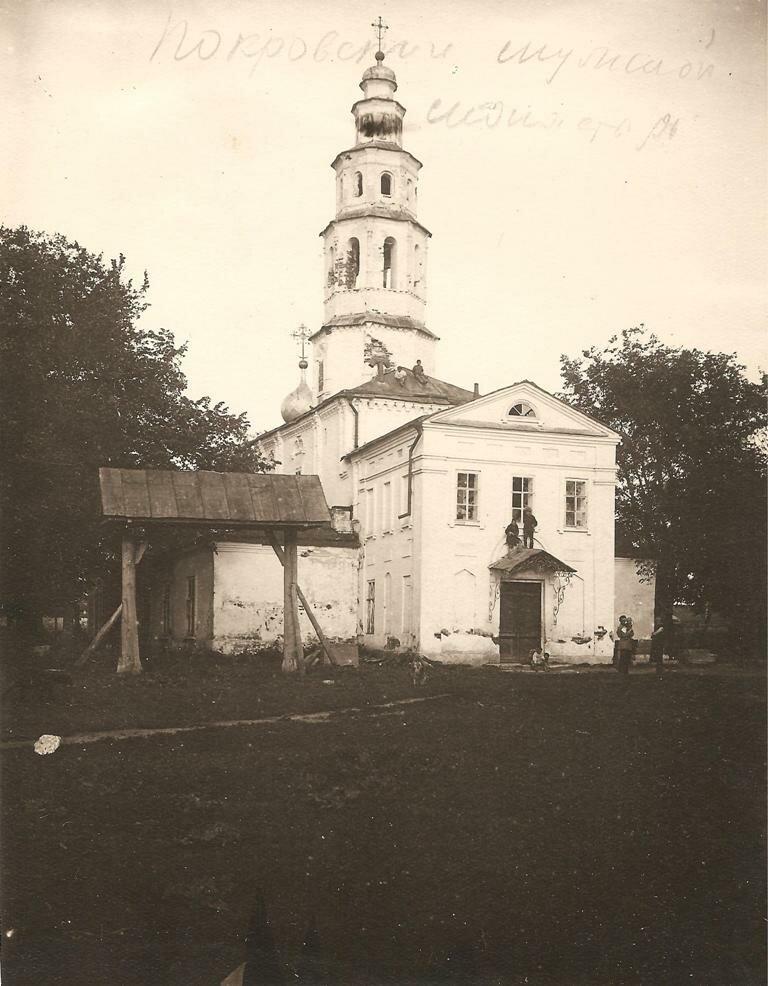 Благовещенская церковь Покровского мужского монастыря
