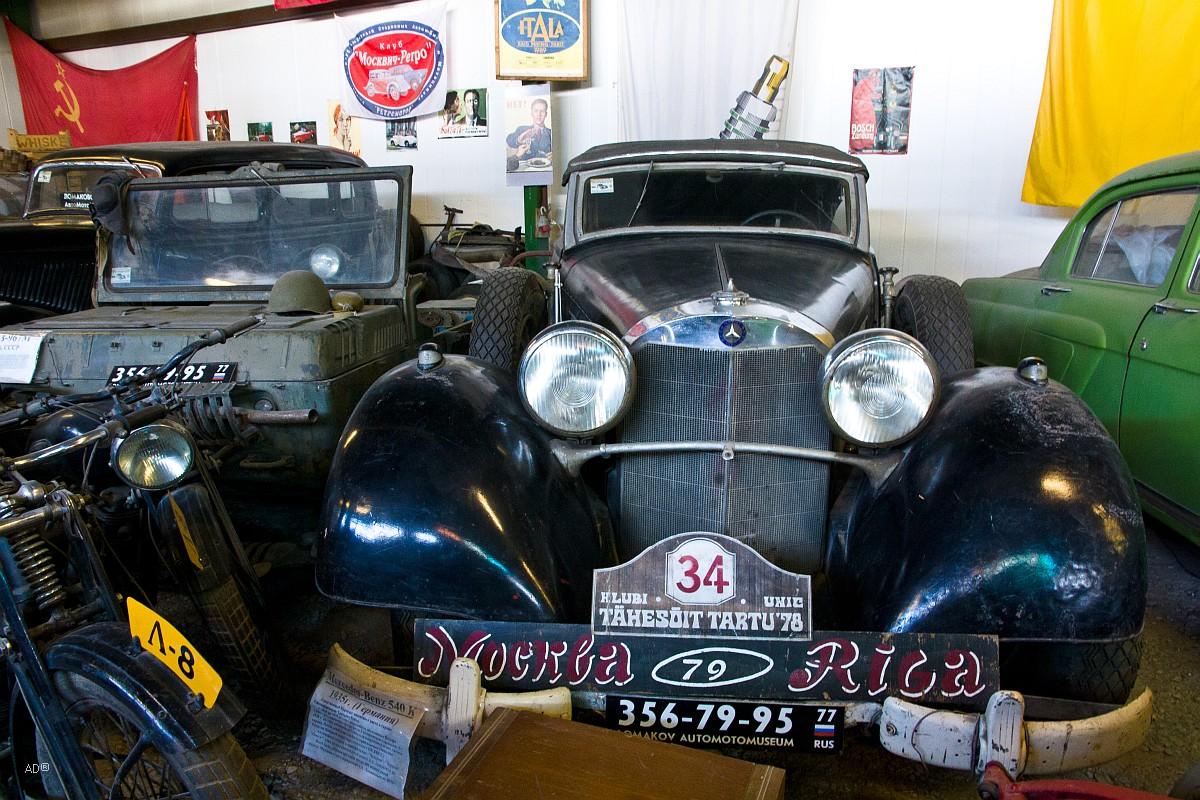 Мерседес-Бенц 540 K (Кабриолет B) 1935 года