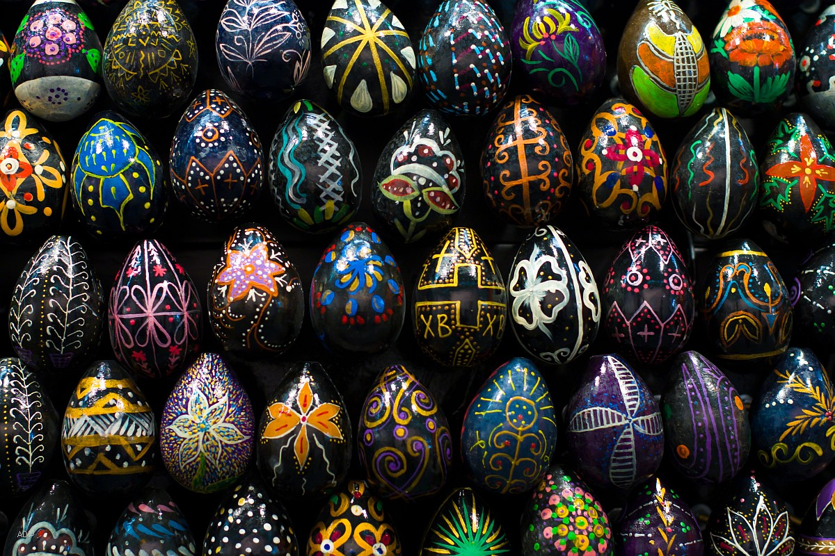 Пасхальные яйца - Арт-Москва 2010