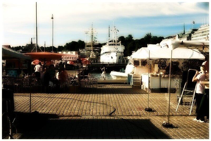 Торговая площадь. Хельсинки