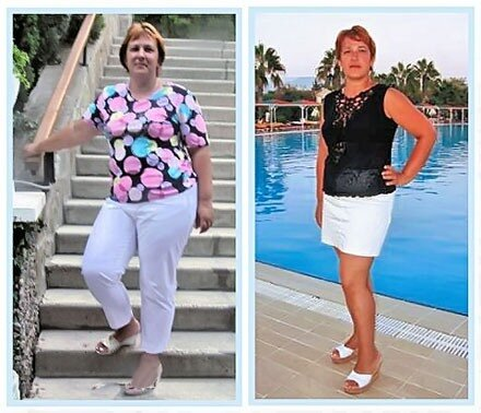 Как Ирина похудела на 20 килограмм?