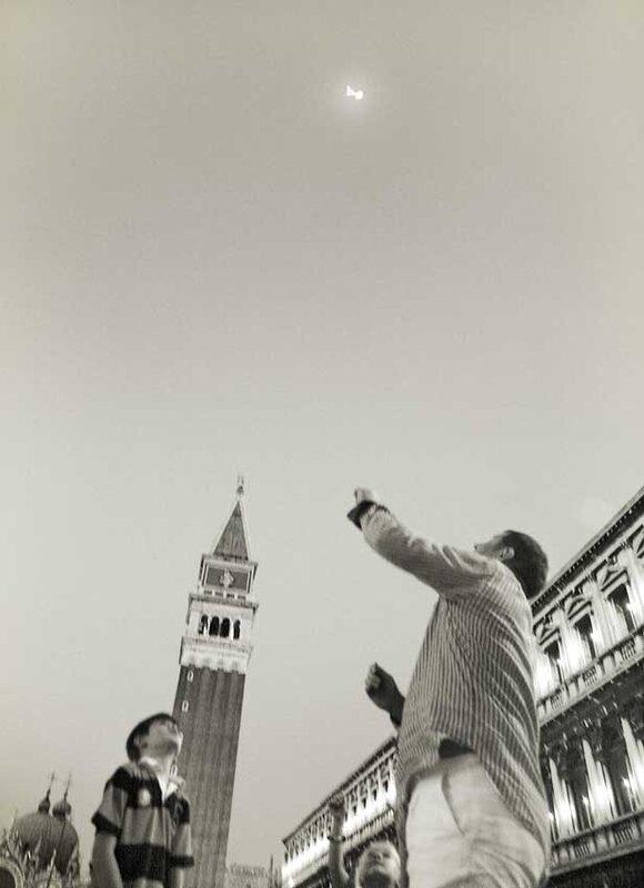 Черно-белая иллюзия Италии