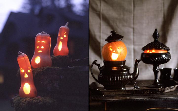Мы Хеллоуин как-то не приняли (не в нашей традиции), а может, просто уже...