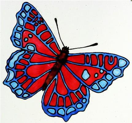 Трафареты для витражной росписи