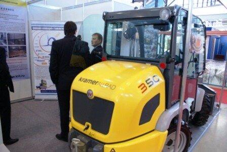 Фронтальный минипогрузчик производства KRAMER ALLRAD 350 ITFM CEMAT Россия 2010