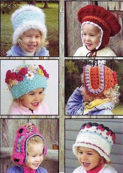 И хоть схемы шапочек и не