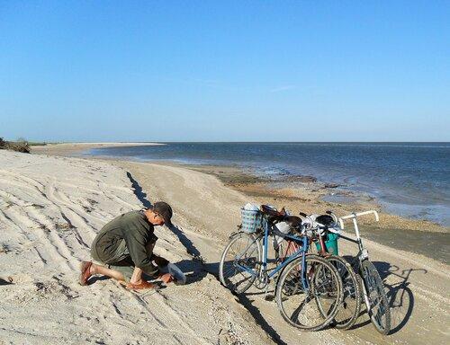 На велосипеде по Ясенской косе