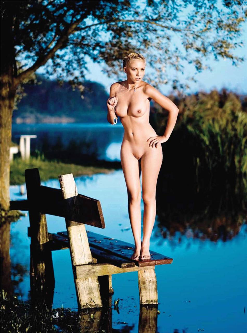 Anamarija Frlan in Playboy Croatia october 2010