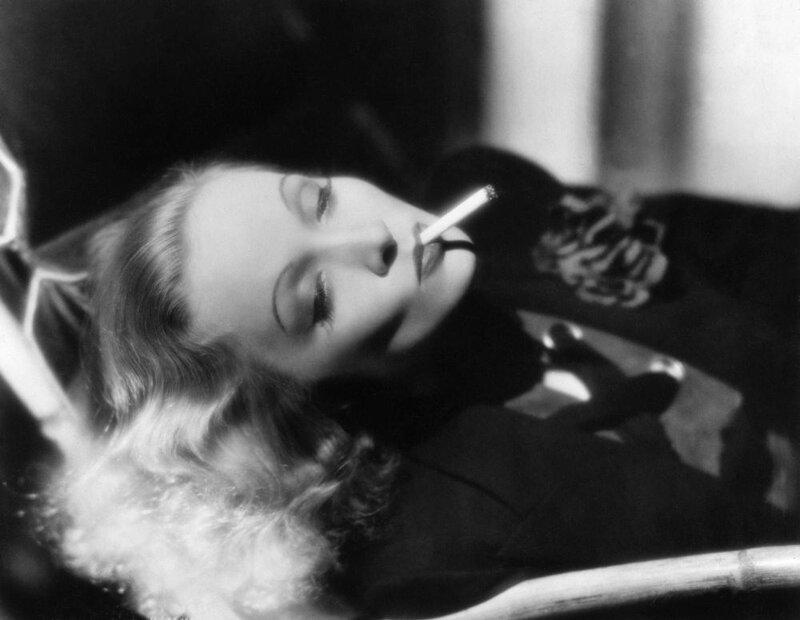 Marlene Dietrich .