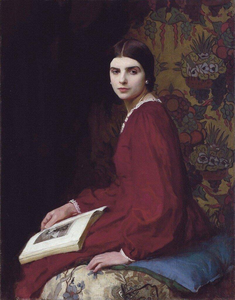 George Spencer Watson Portrait of Betty McCann 1927