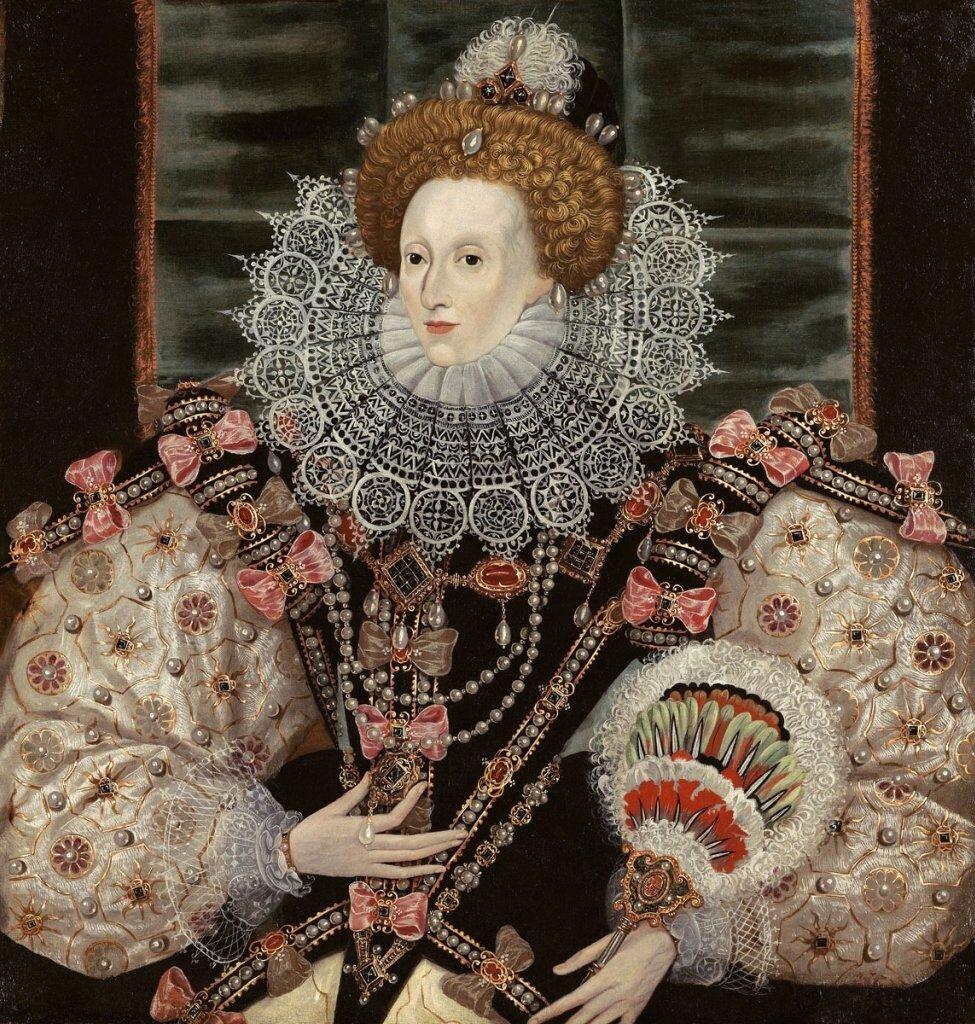 George Gower Portrait of Queen Elizabeth I 1600
