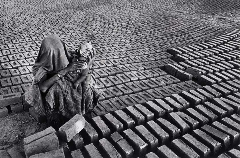 """India,"" by Sebastiao Salgado, 1990"