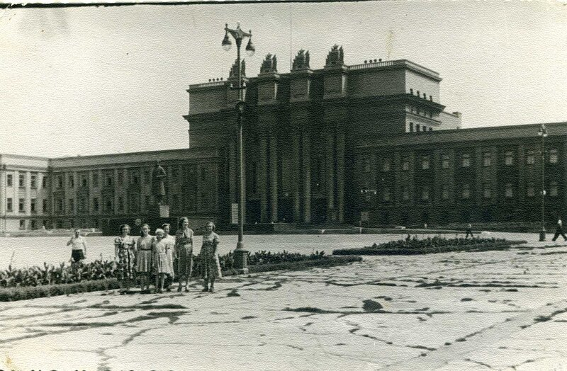 Театр оперы и балета в Куйбышеве. 1957 год