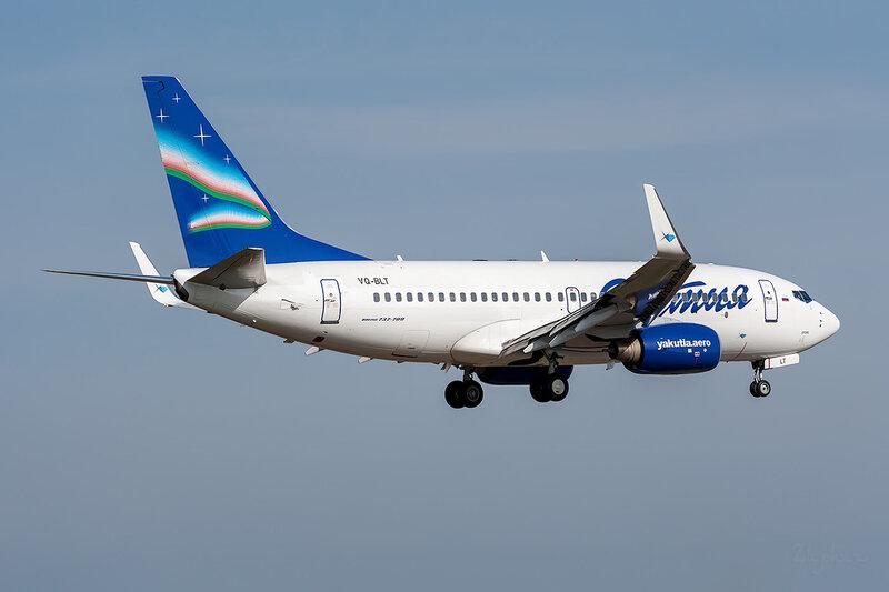 Boeing 737-76Q (VQ-BLT) Якутия DSC_3661