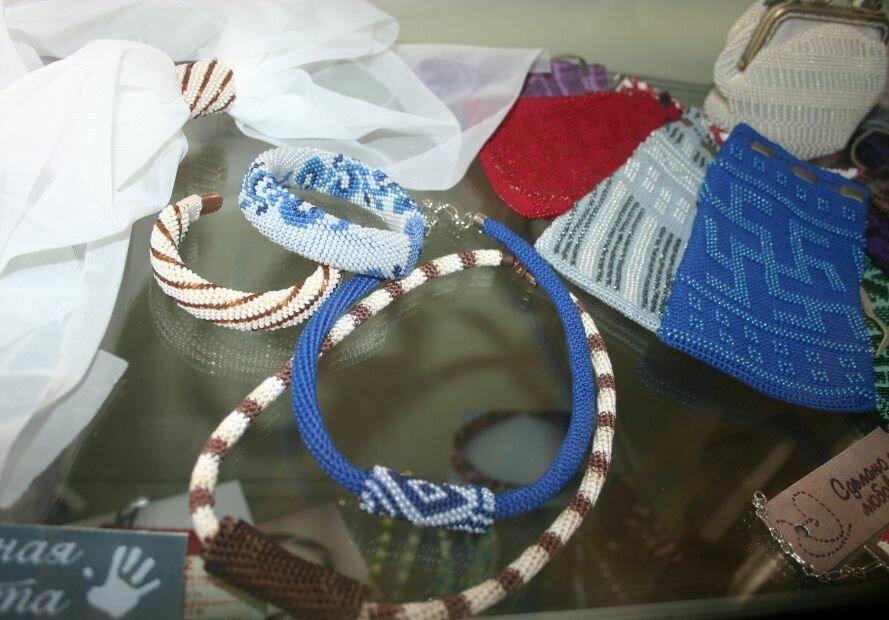 Луганская мастерица привезла в Запорожье бисерную красоту (ФОТО), фото-3