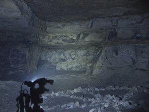 Налобный фонарь Spark SX5-350 CW, в турбо режиме светит так