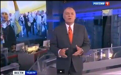 Украинцы троллят российское ТВ