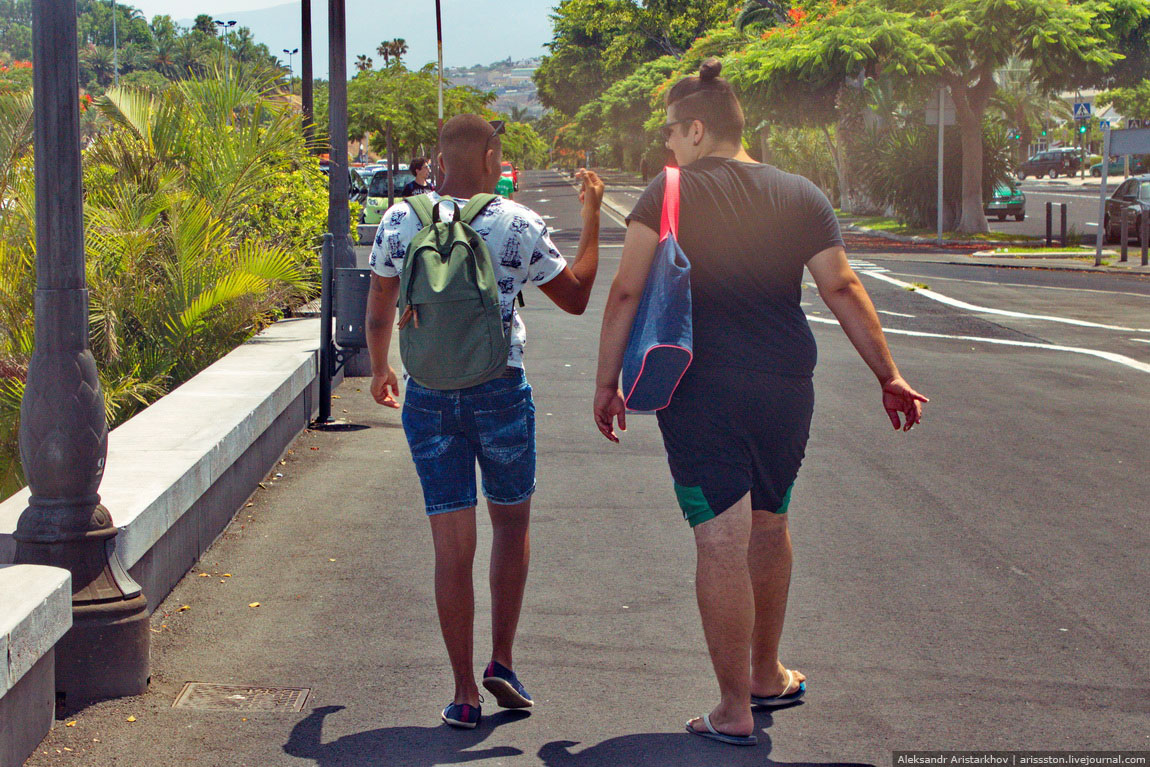 Путешествие по Тенерифе: День 4: Санта Крус и Тереситас