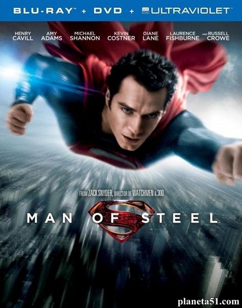 Человек из стали / Man of Steel (2013/BDRip/HDRip/3D)