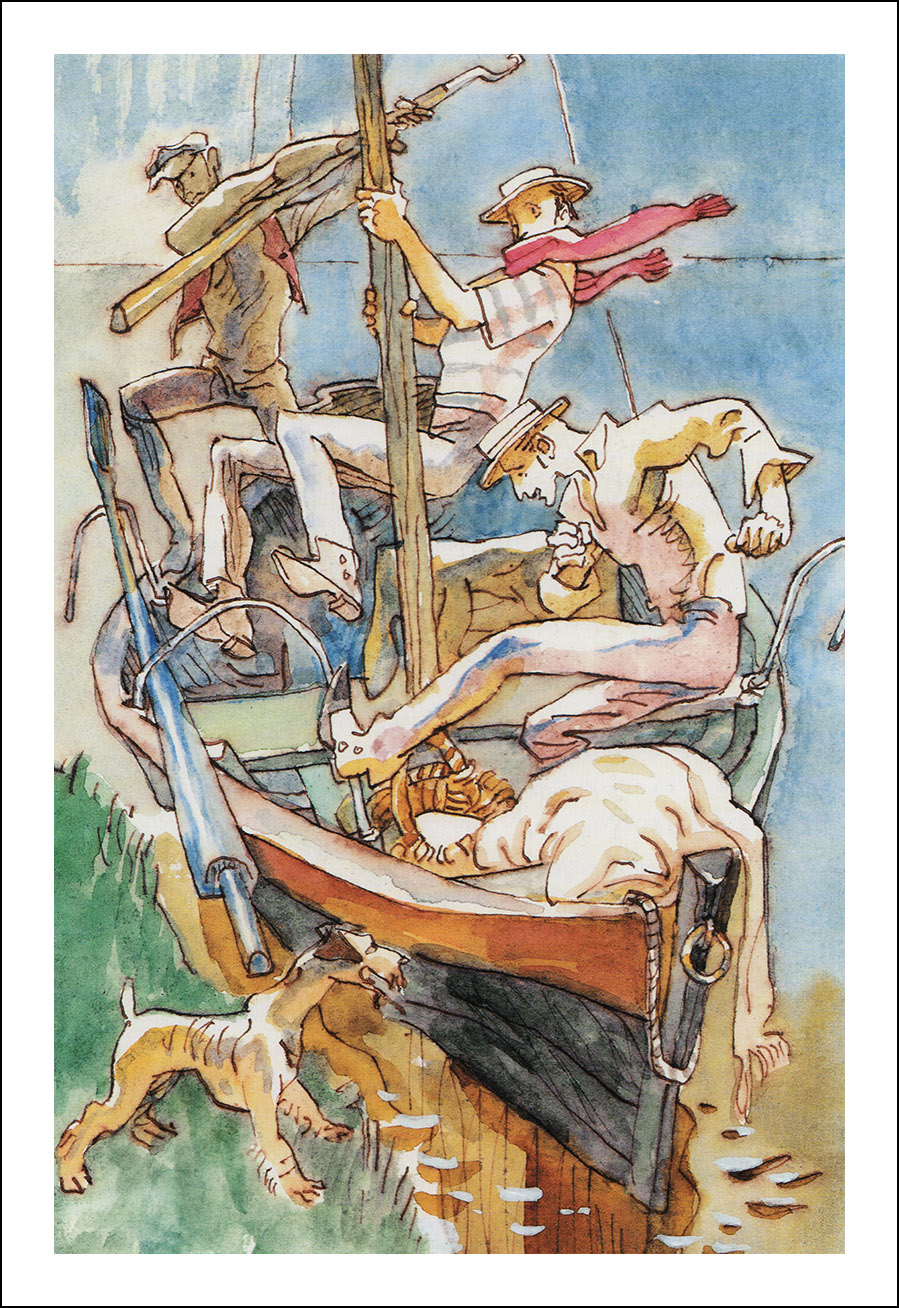 Михаил Петров, Трое в лодке, не считая собаки
