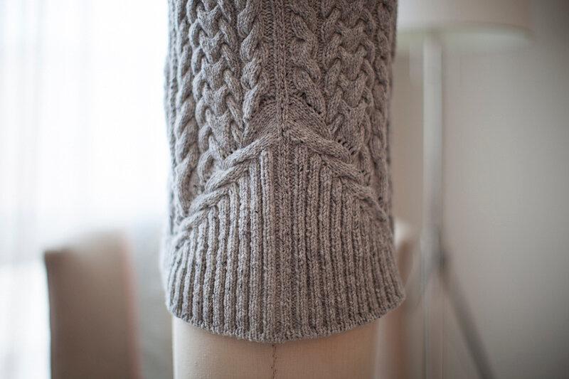 альбоме «свитер с аранами
