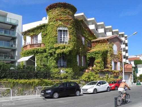 Франция. Необычный дом в Каннах