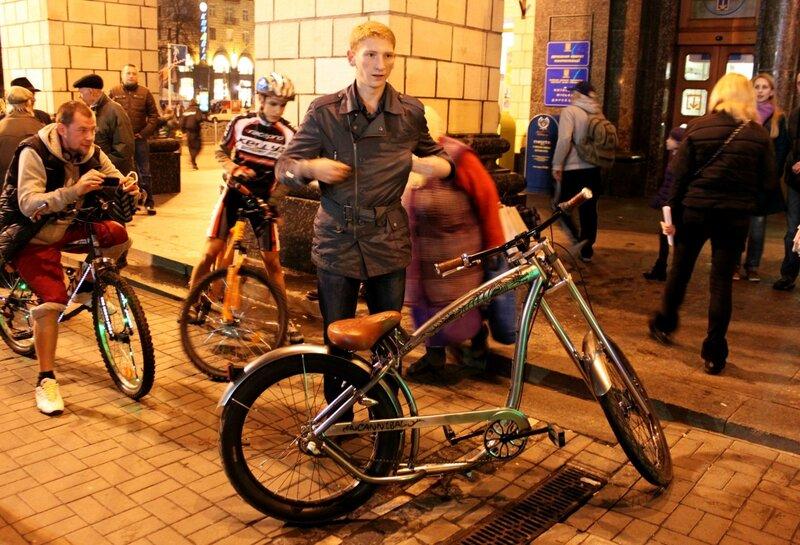 Крутой велобайк
