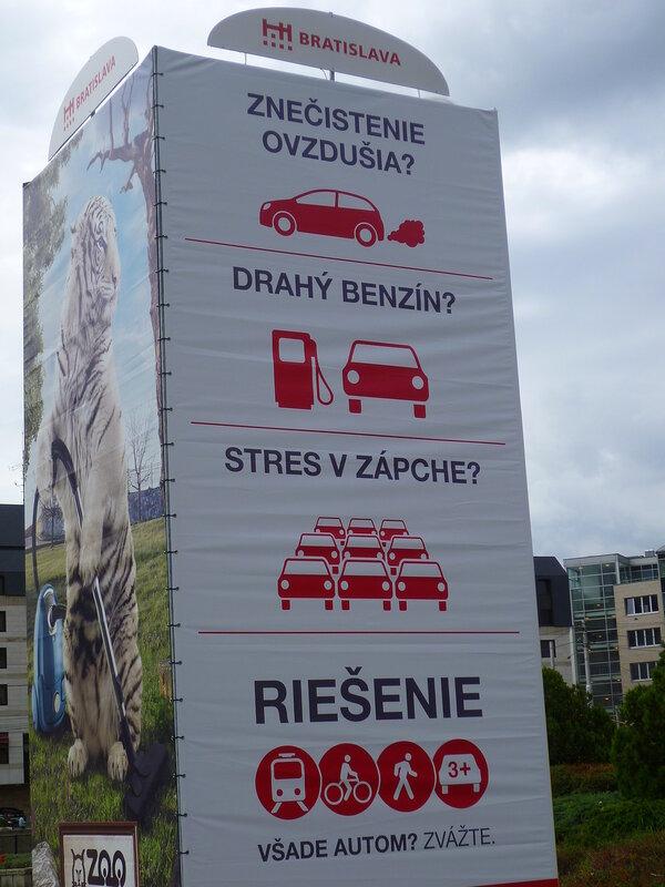 Таблички в Братиславе, Словакия (Tablets in Bratislava, Slovakia)